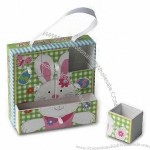 Jewelry Gift Boxes In Popular And Elegant Style 12.5 X 12.5 X 3.5cm