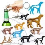 Jimmy Cho Dogs Bottle Opener with Keyring