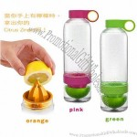 Juice Source Manual Citrus Citrous Zinger Lemon Water Bottle Juice Extractor Bottle