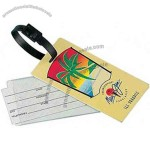 Jumbo .40 Mil Vinyl Luggage Tag With Strap