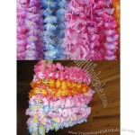 Jumbo Two-Tone Maui Flower Leis