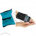 Keep cash, cards and your phone secure on your wrist