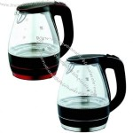 Kettle, Glass Material, Concealed Stainless Steel Heating Element