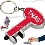Key 3-in-1 Keychain Phone Stand