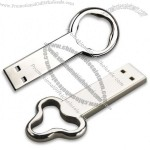 Key Shaped USB Flash Drive