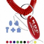 Key - Spiral wrist coil with shaped tag