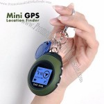 Keychain Mini GPS Receiver Tracker and GPS Location Finder Navigation for Bicycle Camping