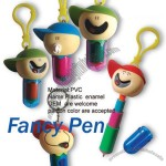Keychain Pen Cartoon Fancy Pen