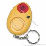 Keychain Personal Alarm Keychain with Red Flashing and Warning Light