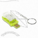 Keyring USB Flash Drive with Clip