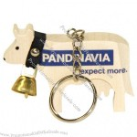 Keyring Wooden Cow