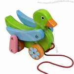 Kids Wooden Pull Along Toy