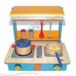 Kitchen Cooker/Wooden DIY Toys,