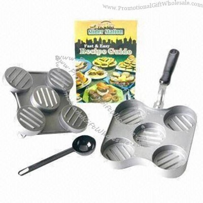 Promotional kitchen set with quick press slicer gift for Kitchen set name