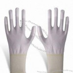 Knitted Top PU Dipped Gloves