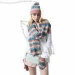 Knitted Winter Hat and Scarf