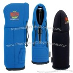 Koozie Wine and Bottle Hoodie Bag