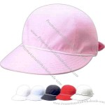 Ladies' brushed canvas cap in casual style with soft bill.