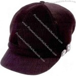 Ladies' fashion corduroy new hat with cotton lining and sweatband