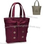 Ladies Melrose Cotton Polycanvas Tote Bag