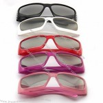 Lady's Fashion 3D Glasses Real D Style