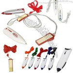 Lanyard Pen and Notebook Combination Set