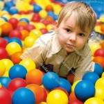 "Large 3.1"" Crush-Proof Ball Pit Balls - non-PVC Phthalate Free Plastic in 5 Colors"