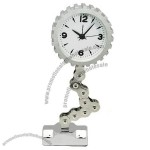 Large Gear Chain Clock/ Desk Clock/Table Clock