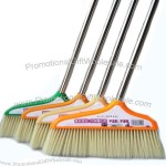 Large Pig Hair Broom With Stainless Steel Handle