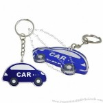 Laser-Cut Acrylic Car Key Tags