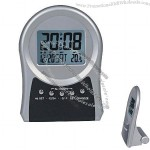 LCD Alarm Clock With Calendar & Thermometer(1)