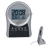 LCD Alarm Clock With Calendar & Thermometer