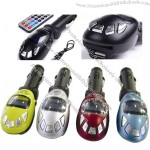 LCD Car MP3 Player FM Transmitter With USB SD MMC Card Jack