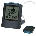 LCD Travel Alarm Clock with Digital Calendar