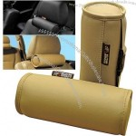 Leather Car Headrest, Head Neck Rest Cushion/Pillow
