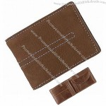 Leather Coin Pocket Wallets