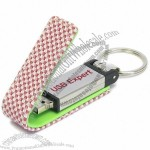 Leather Colorful Cloth Opening USB Flash Disk
