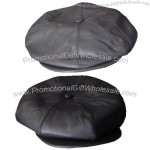 Leather Eight Section Cap