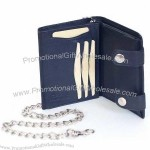 Leather Large Chain Wallet