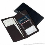 Leather Passport Ticket Holder