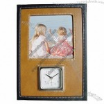 Leather Photo Frame Clock(1)