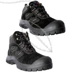 Leather Safety Footwear, Durable And Quality Suede