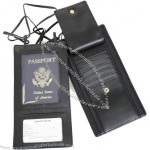 Leather Security Passport Wallet