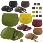 Leather Single Pouch Coin Purse