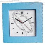 Leather Table Clock(1)