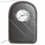 Leather Travel Clock(6)