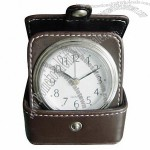 Leather Travel Clock with Alarm(1)