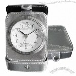 Leather Travel Clock with Alarm(2)