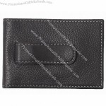 Leather Twofold Money Clip