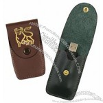 Leather USB Flash Drive Holder Case